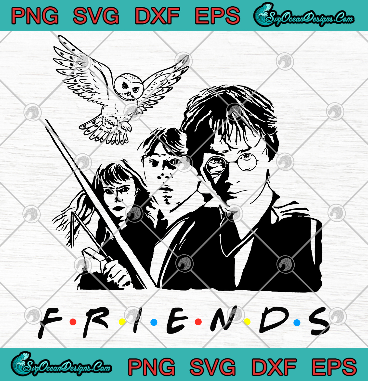 Friends Harry Potter Family Witch Svg Png Eps Dxf ...