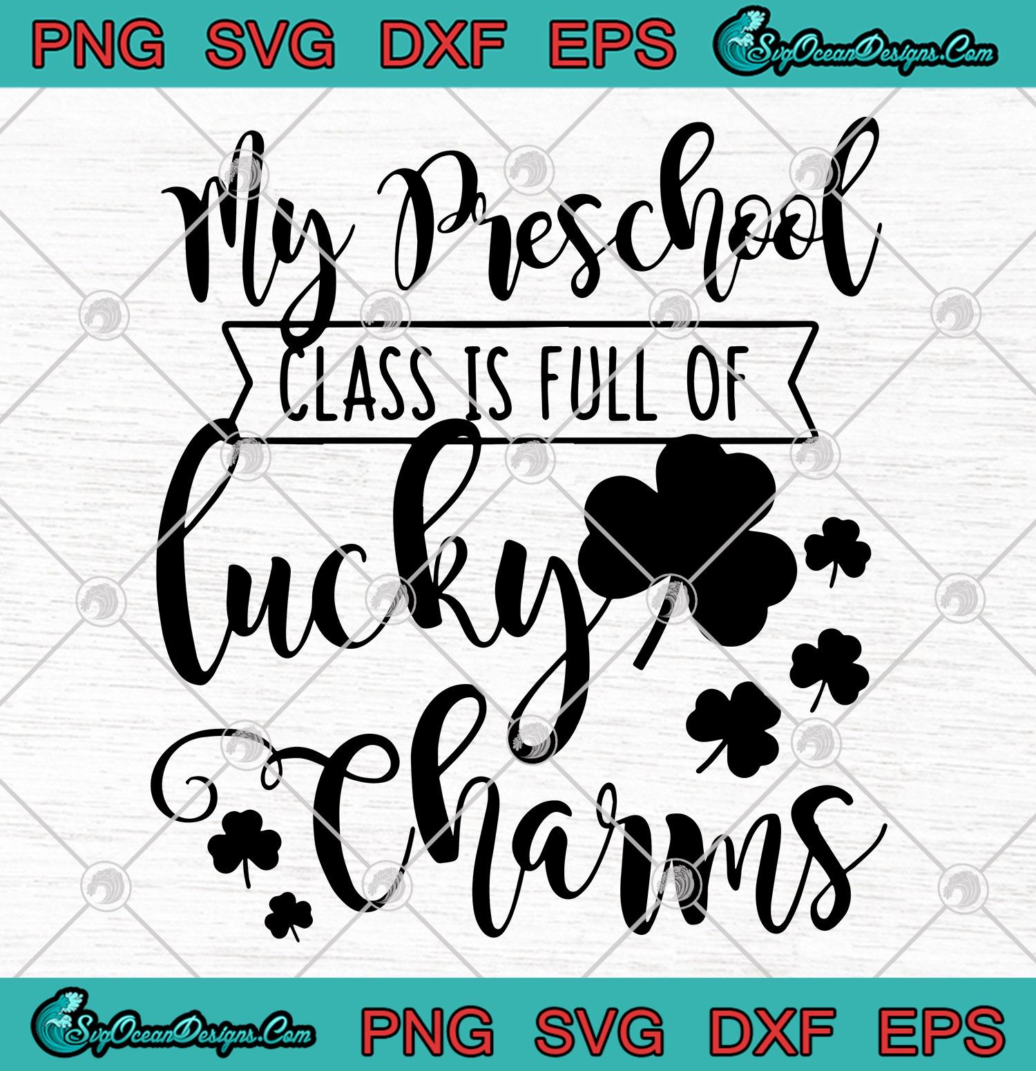 View One Lucky Momma / Svg Png Dxf Eps File Image