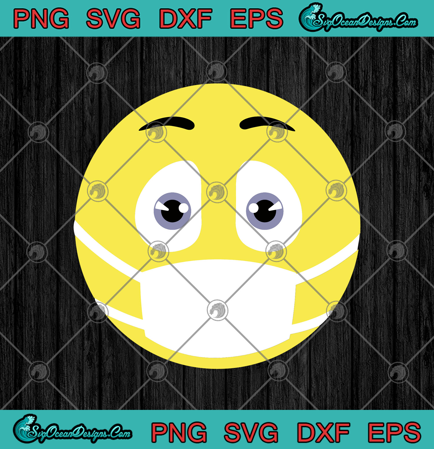 Emoji With Face Mask Corona Coronavirus Svg Png Dxf Eps Fuck Covid 19 Coronavirus Svg Png Cricut File Silhouette Art Designs Digital Download