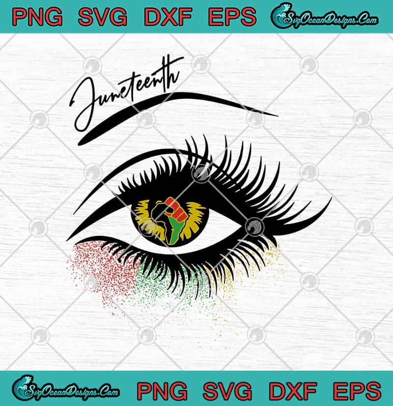 Juneteenth Eye Justice Freedom Day African American Freedom Svg Png Eps Dxf Freedom Day Svg Cricut File Silhouette Art Designs Digital Download